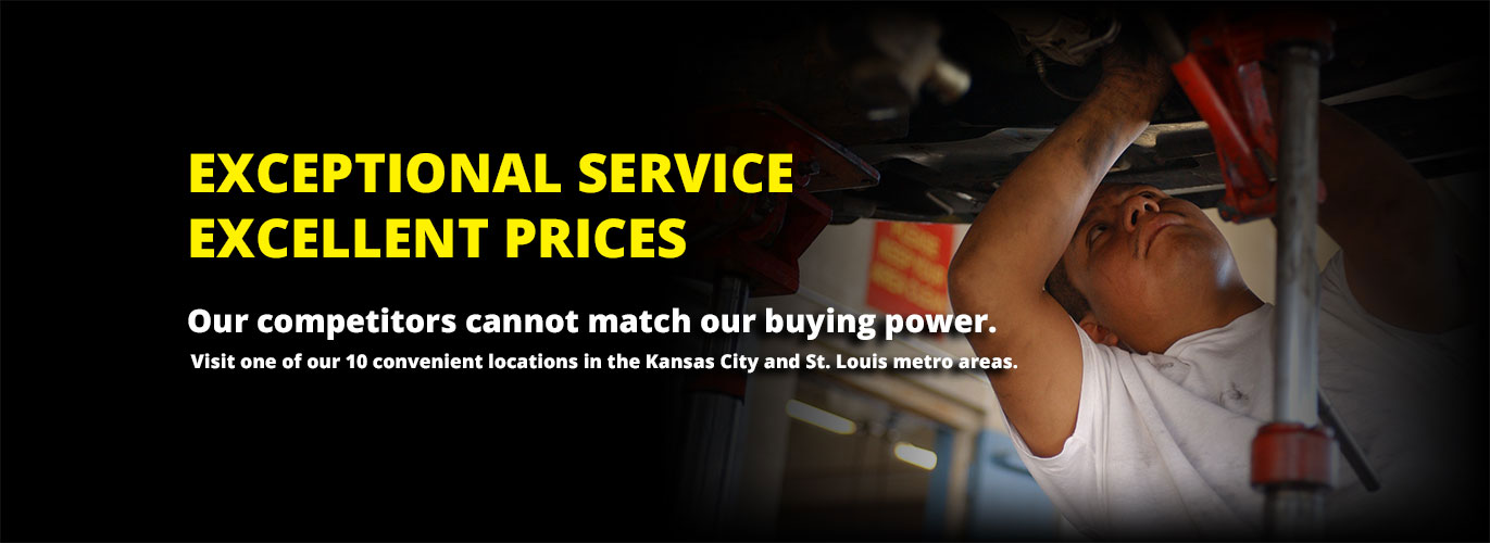 Exceptional Service, Excellent Prices