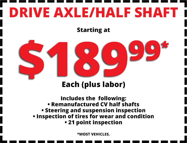 Special Offers   Calvert's Express Auto Service & Tire